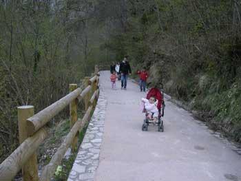senderismo con ninos asturias
