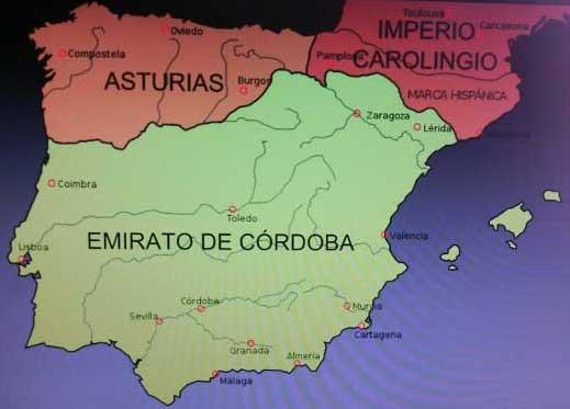 Mapa Reino De Asturias.Origen Del Reino Asturias Arte E Historia