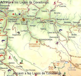 Lagos De Covadonga Planos De Situación