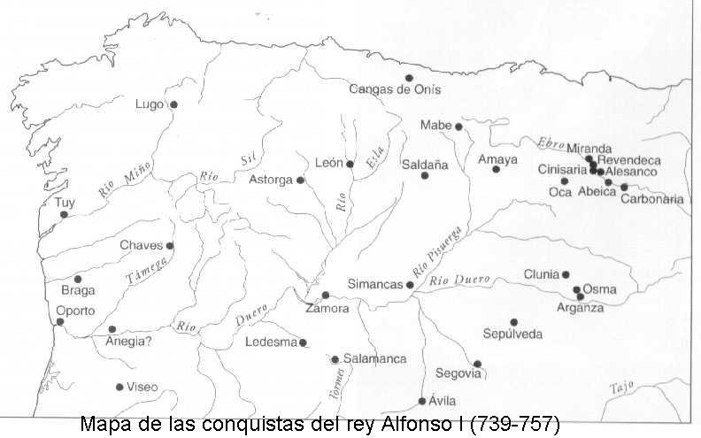 Mapa Reino De Asturias.Todos Los Reyes Asturianos Desde Don Pelayo A Alfonso Iii El Magno